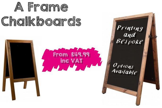 Bespoke Chalkboard Handmade in the UK - Printed Blackboards ...