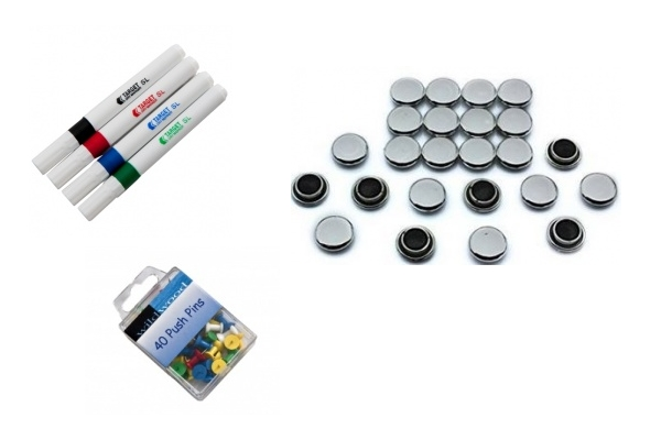 White Board and Pin Board Accessories