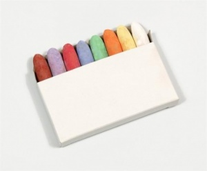 Coloured Chunky Chalks