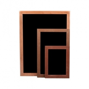 Magnetic chalkboards in a range of frames and sizes
