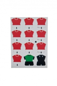 Football Shirts Magnets