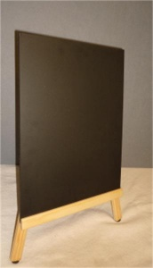 Double Sided Chalkboard with Small Easel