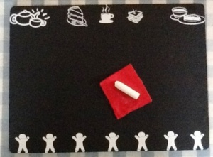 Scribble Gingerbread Novelty Chalkboard