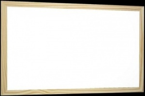 Jumbo Magnetic whiteboard - 40mm pine frame