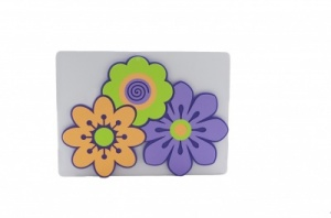 Flower foam pinboard