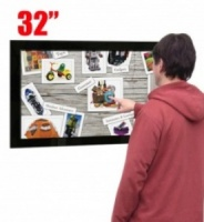 32'' Wall Mounted Multi Touch Screen Display