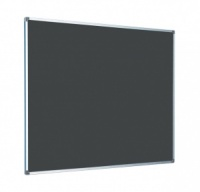 FELT PIN BOARD WITH ALUMINIUM FRAME