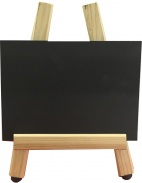 Double Sided Chalkboard with Mini Easel