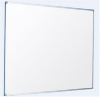 Whiteboard with aluminium frame