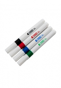 Pack of 4 coloured whiteboard pens